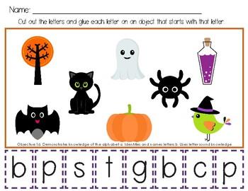Preschool Halloween Curriculum