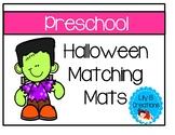 Preschool Halloween Matching Mats