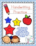 Preschool Handwriting Practice Printable Packet