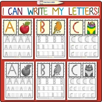 Preschool Handwriting: Supported Writing of CAPITAL Letters