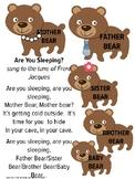 Hibernation Song, Preschool Music and Movement, Winter Music