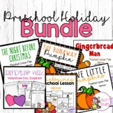 Preschool (Highscope) Holiday Lesson Plan BUNDLE