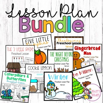 Preschool/Highscope Lessons (GROWING BUNDLE)
