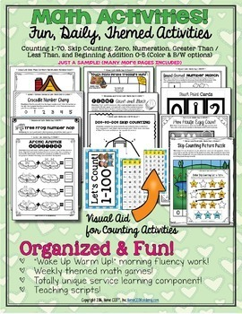 Preschool Pre-K Curriculum 9-Week Bundle Preschool Printables, Prek, Homeschool