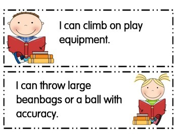 Preschool I Can Statements Alaska