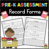 Preschool Assessment  Record Forms