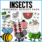 Preschool: Insects Learning Activity pack