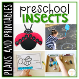 Preschool: Insects {Plans and Printables}