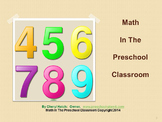 Preschool Inservice Training Math Workshop