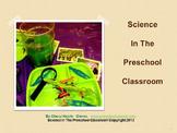 Preschool Inservice Training Science Workshop