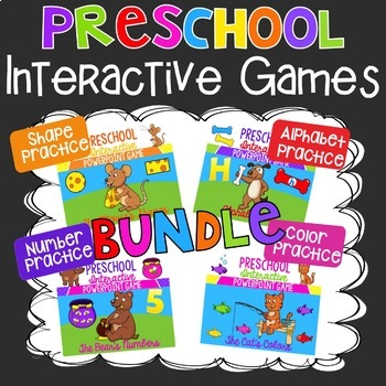 Preschool Interactive Games Bundle