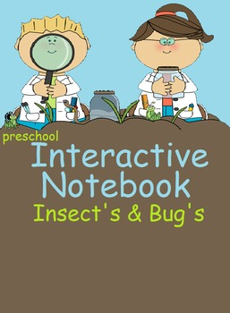 Preschool Interactive Notebook Good for children with Autism & Mental delays