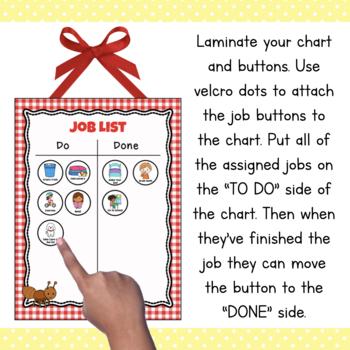 Preschool Job Chart