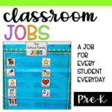 Classroom Jobs for Preschool