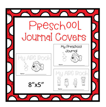 Preschool Journal Covers