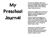 Preschool Journal HALF PAGE