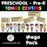 Preschool Fine Motor Tongs