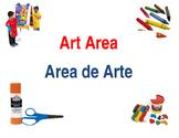 Preschool /Kinder Center Signs