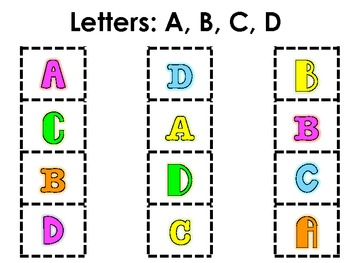 Preschool & Kindergarten Alphabet Sorting