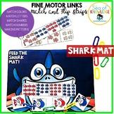 Preschool Kindergarten Basic Skills Shark Mat Fine Motor +