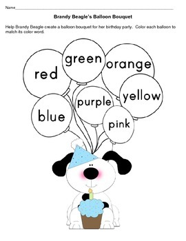 Preschool - Kindergarten Literacy & Math Practice & Review Printable Pages