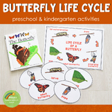 Preschool/ Kindergarten Butterfly Life Cycle Activity Set