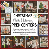 Preschool Christmas Centers and Fine Motor Activities