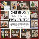 Christmas Activities Preschool Prewriting Centers