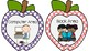 Preschool & Kindergarten Classroom Center Labels- Apple Theme, Early Childhood