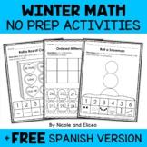 Winter Kindergarten Math Activities