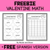 FREE Valentine Candy Heart Sort Math Activity