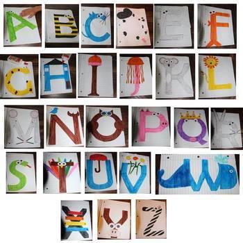 Preschool/Kindergarten Craft Bundle