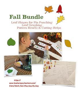 Preschool & Kindergarten Fall Bundle
