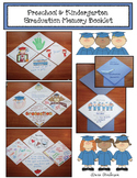 Preschool & Kindergarten Graduation Memory Book