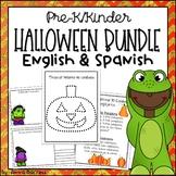 Halloween Activities for Pre-K & Kindergarten, English/Spanish