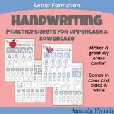 Preschool & Kindergarten - Handwriting Worksheets