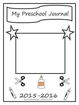 Preschool & Kindergarten Journal Starter Pages Bundle