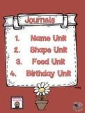 Preschool Kindergarten Journals