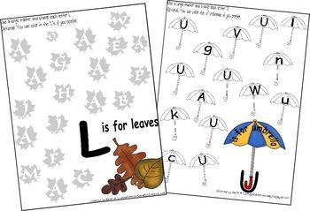 preschool kindergarten letter recognition worksheets from. Black Bedroom Furniture Sets. Home Design Ideas