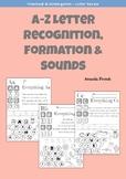 Preschool & Kindergarten: Letter Worksheets