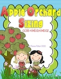Preschool Kindergarten Math Center Apple Orchard Sizing Pack