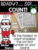 Preschool/Kindergarten Math Game: Ready? Set... Count! Numbers 1-10