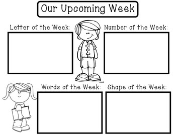 Preschool/Kindergarten Newsletter