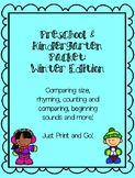 Preschool & Kindergarten Packet: Winter Edition