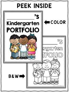 Assessment Portfolio - Kindergarten Math and Literacy
