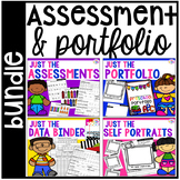 Assessments and Student Portfolios BUNDLE for Preschool, P