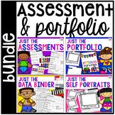 Assessments and Student Portfolios BUNDLE for Preschool, P