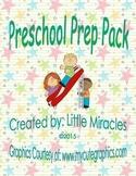 Preschool Kindergarten Prep Pack