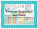 Preschool / Kindergarten / SDC Language Jeopardy / Quiz game Speech therapy