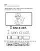 Preschool & Kindergarten Sentences